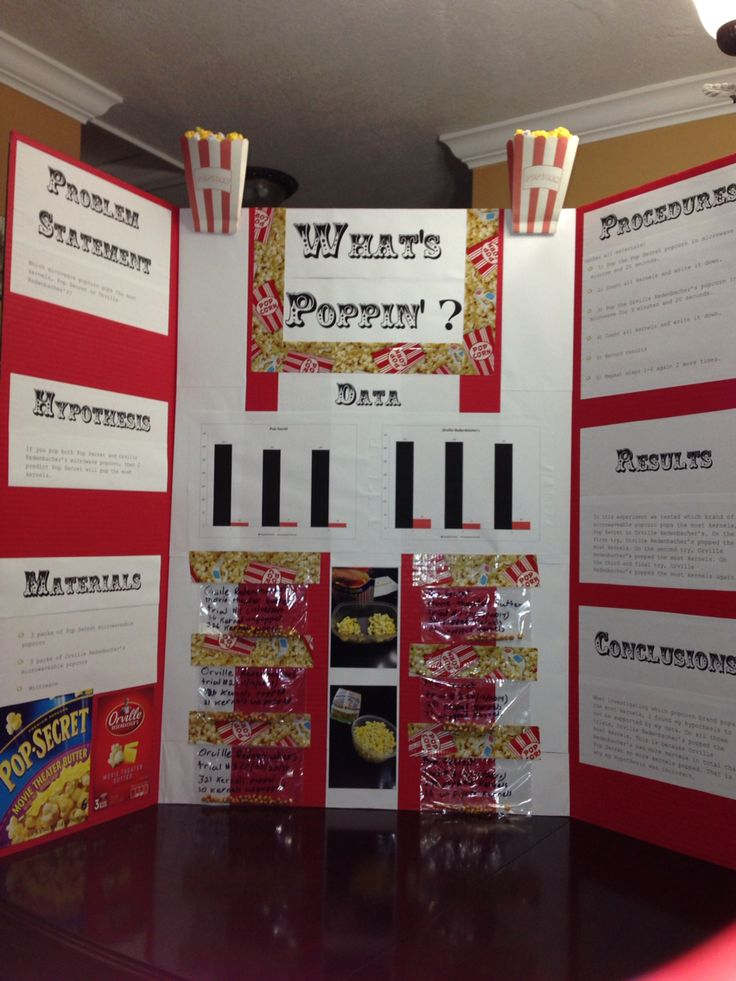 Which popcorn brand pops the most kernels? 3rd grade science project