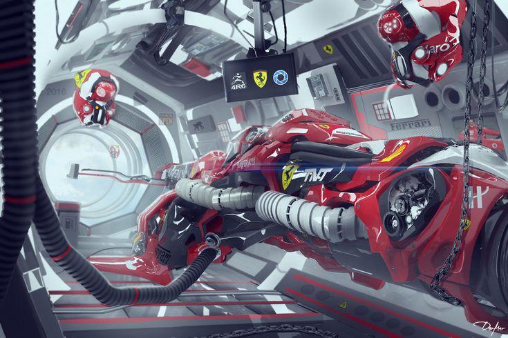 ArtStation - F1 RACER, Darko Markovic dar-mar