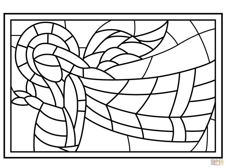 Image Result For Stained Glass Coloring Sheets