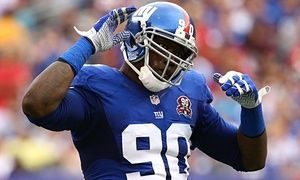 Jason Pierre-PaulNew York Giants' Jason Pierre-Paul has finger amputated after firework accident