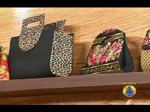 Santa Receita | Carteira de Mão com Caixinha de Leite por Andrea Dourado - 24 de Julho de 2014 - YouTube