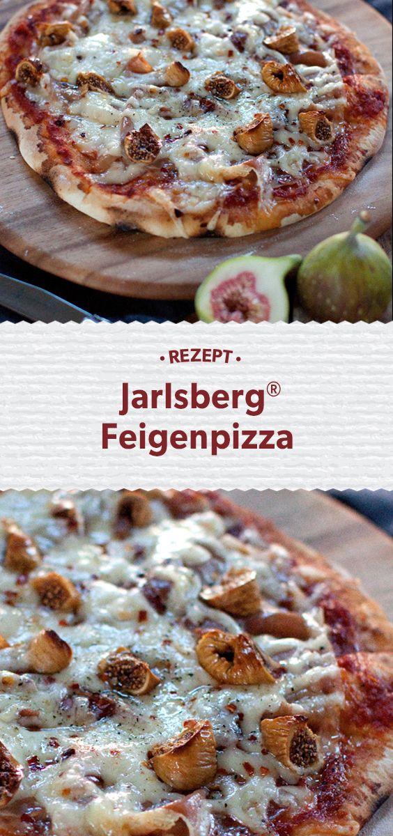 Bei der Pizza kommt es auf den Belag an. Und der ist hier extravagant. Sahnig-nussiger Jarlsberg®, würziger Prosciutto und getrocknete Feigen verbinden sich zu einem spannenden Geschmacks-Dreiklang. Dieses Rezept und mehr Ideen mit unserem norwegischen Käse findet Ihr unter http://www.jarlsberg.com/de/recipes/jarlsbergr-fig-pizza