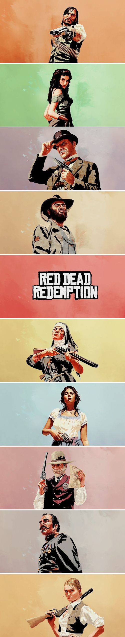 Red Dead Redemption: Moral degeneracy waits for no man.