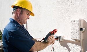 Groupon - $ 99 for Electrical Inspection for a Whole Home, Plus $50 Credit Toward Repairs ($300 Value) in Lithonia. Groupon deal price: $99