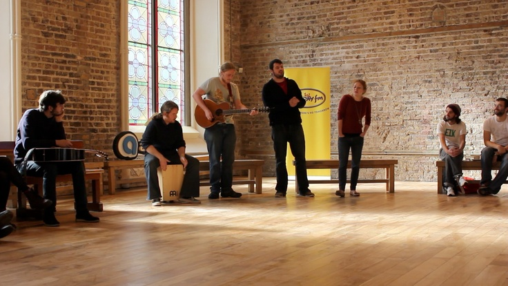 The Rusty Fixtures perform at our launch for #BacktoBasics in Smock Alley Theatre on 1st October