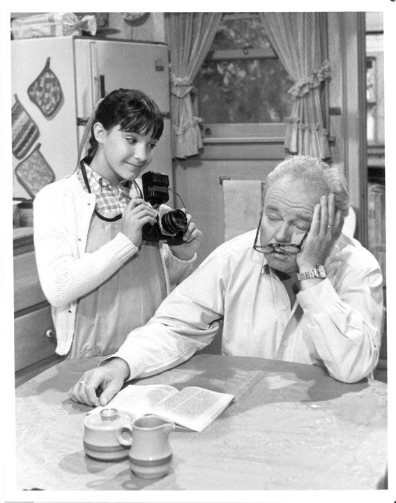 Danielle Brisebois, Stephanie Mills on the sitcoms All in the Family and Archie Bunker's Place. Loved her when I was a kid, wish she had more shows.