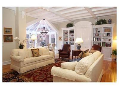 Incredible bay window in a Beacon Hill Boston home