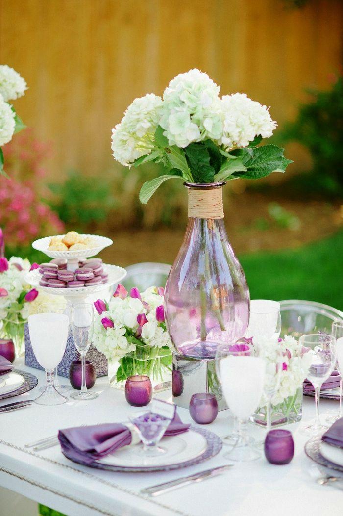 Déco mariage au printemps- 16 idées pour votre table de fête!
