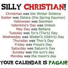When Christianity was trying to gain more followers, they did what religions have done for thousands of years.  They based their holidays and traditions on those of current belief systems in order to ease the transition of the people they were trying to convert.  This list is just the tip of the iceberg.