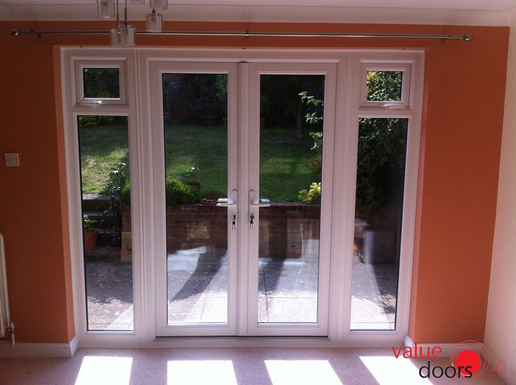 Our uPVC French Doors also look great from the inside and here's the proof!