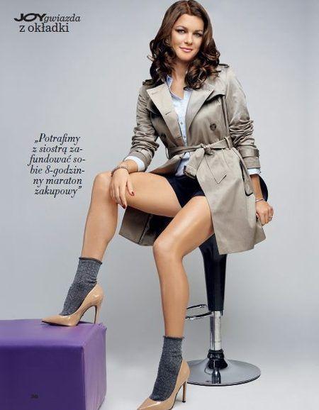 Agnieszka Radwanska in February 2013 Joy magazine