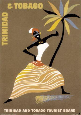 Trinidad and Tobago: Vintage Posters, Tobago Prints, Tobago Art, Trinidadandtobago, Trinidad And Tobago, Art Prints, Travel Tips, Vintageposters, Vintage Travel Posters