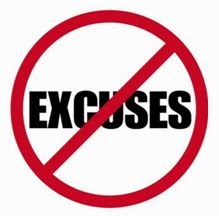 Successful Entrepreneurs Don't Make Up Excuses