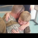 """U.S. Army Soldier Surprises His Children and Mother at Airport  
