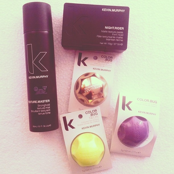 Kevin Murphy hair products to test and review on teh blog