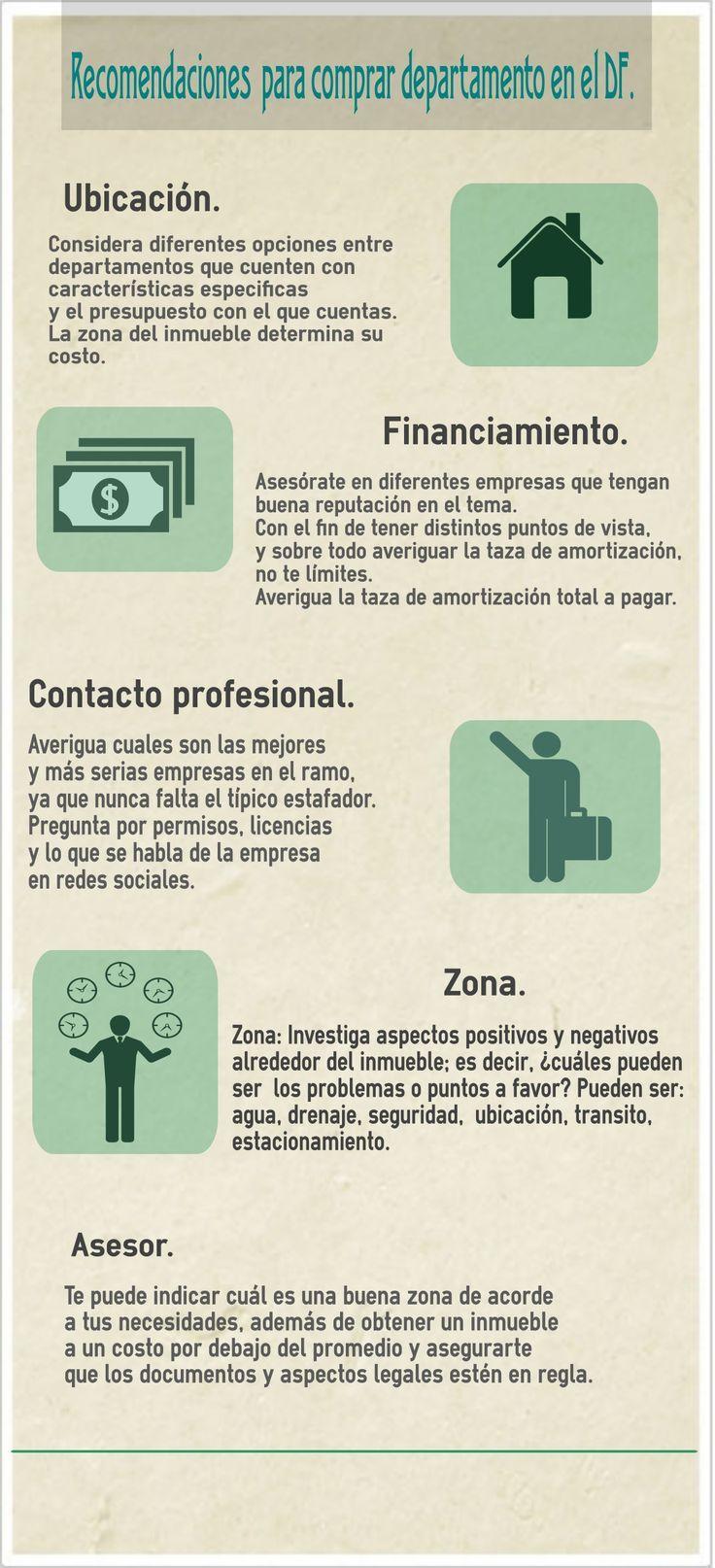 #Tips para tener en cuenta antes de comprar #departamento. #Hogaressauce.