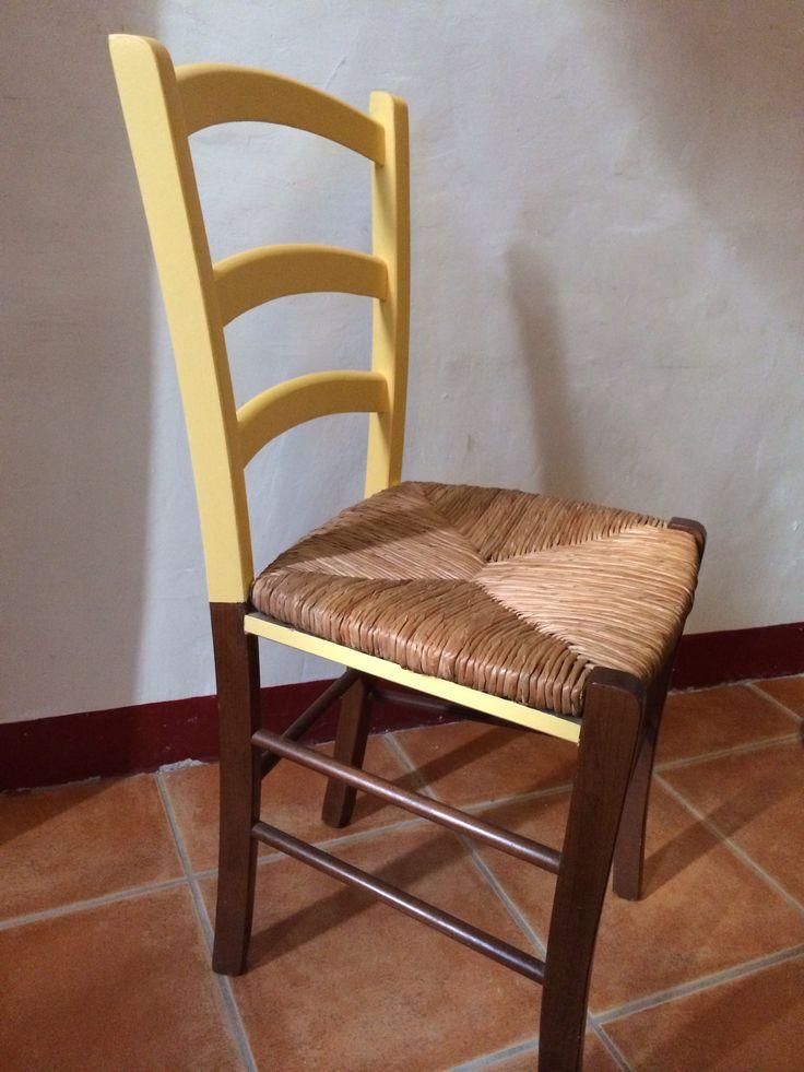 Chaise en bois custom