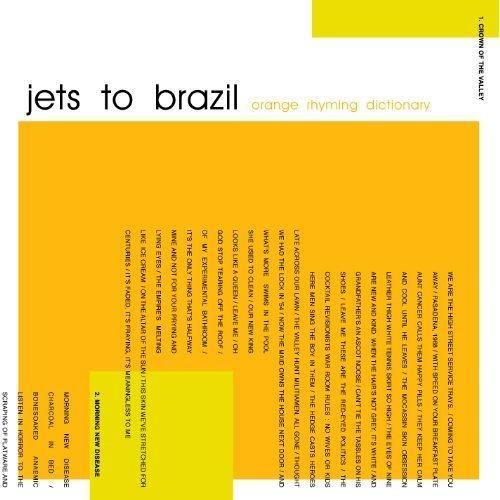 Jets To Brazil - Orange Rhyming Dictionary