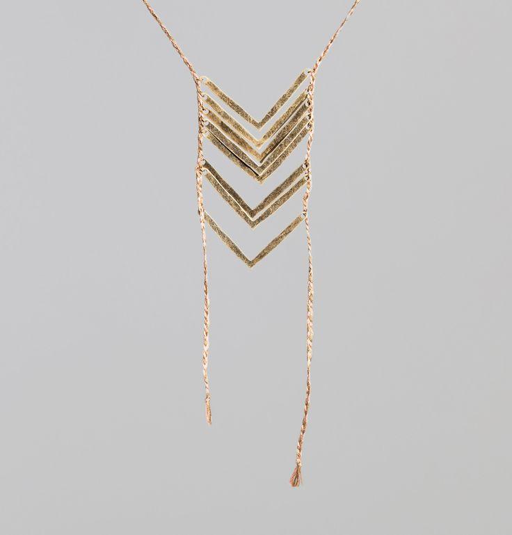 Collier Hoopi Bronze Pascale Monvoisin en vente chez L'Exception