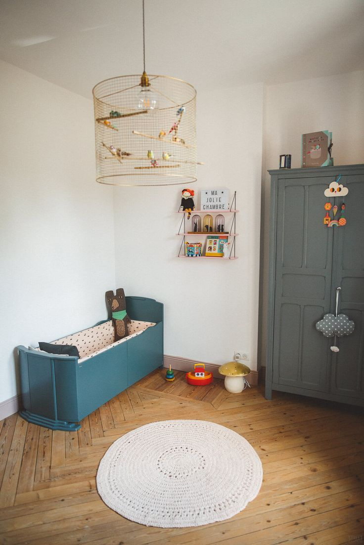 La jolie chambre vintage de Constance   Kids Rooms to Inspire ...