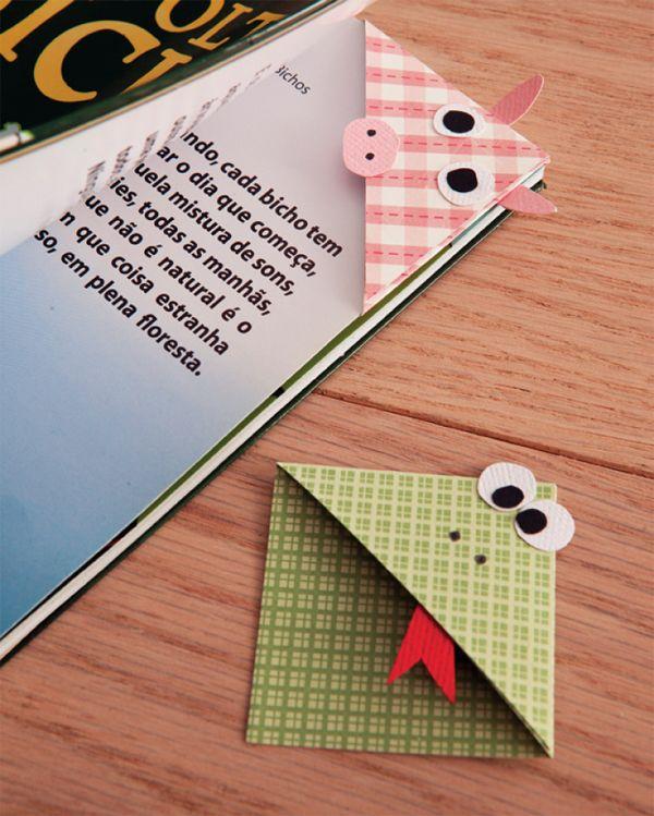 marcador de livro de tecido passo a passo - Pesquisa Google