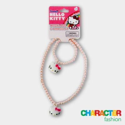 #CharacterFashion Gorgeous Hello Kitty Necklace & Bracelet Set
