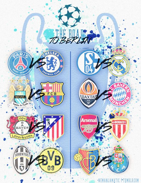 Sorteo de los octavos de final, UEFA Champions League 2014-2015 | los partidos de futbol 2015