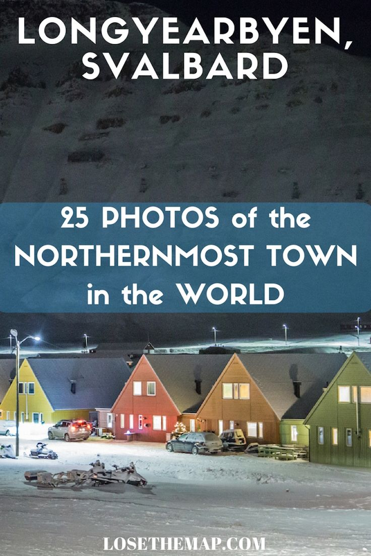Are you curious about what life is like in the northernmost town in the world? Explore Longyearbyen, Svalbard, deep in the Arctic Circle, through 25 photos of the town.  Longyearbyen a remote town of 2,600 people, but with plenty of both indoor and outdoor activities to keep you busy.  This FULL travel guide to Longyearbyen will help you plan your own adventurous vacation!