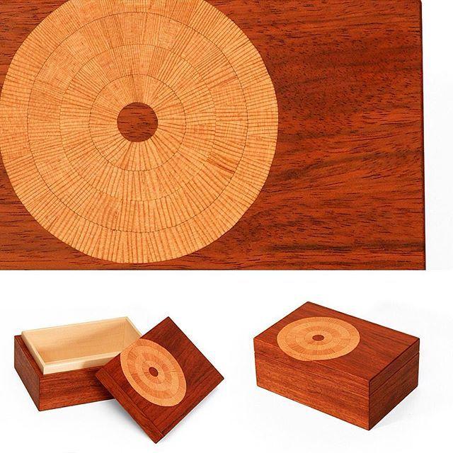 Inlay on Keepsake box. Oden artisan Lael Gordon. #handcrafted  #box #inlay #intentionalheirloom