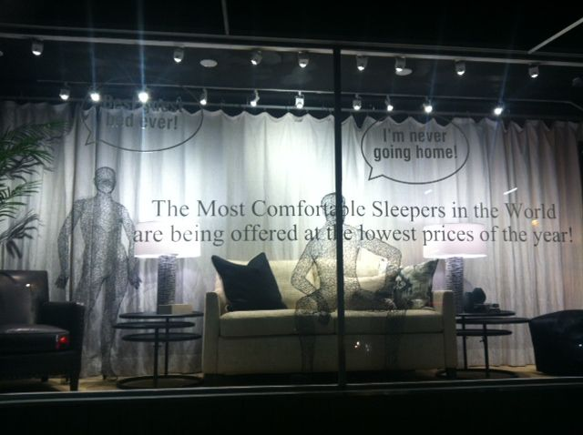 Sleeper window promotion love these wire people