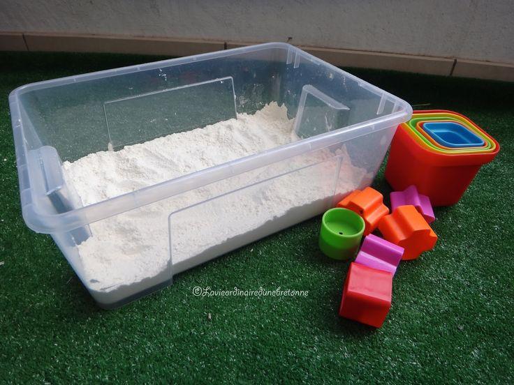 [Activité] Le bac à sable (comestible)