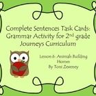 Help students learn about plural and collective nouns with these engaging task cards! As a supplement to the Journeys ELA curriculum for 2nd grade,...