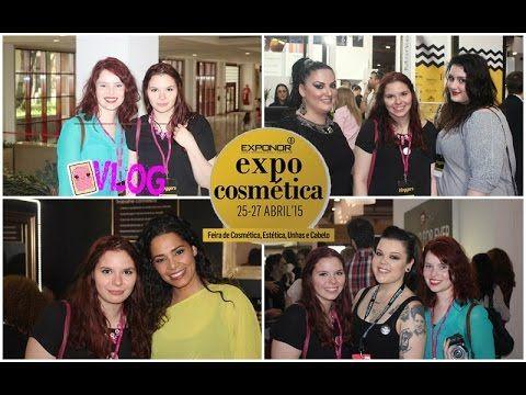 Vlog - Expocosmética 2015   Bloggers novas , Mónica Sofia e muita diversão - YouTube