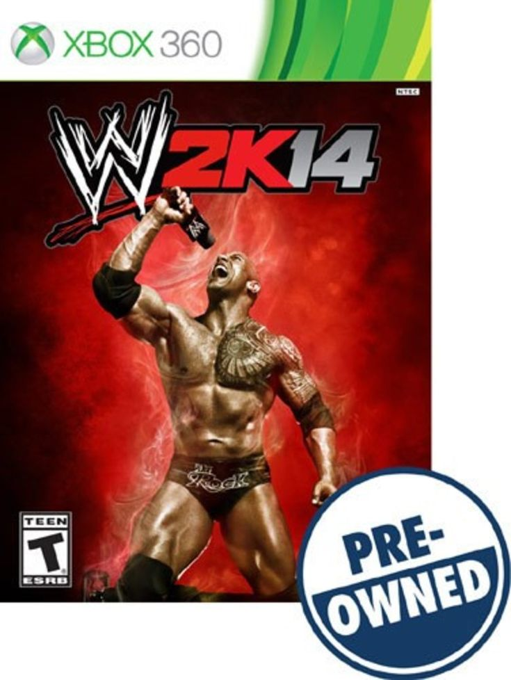 WWE 2K14 - PRE-Owned - Xbox 360