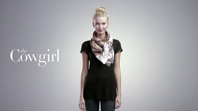 """Nordstrom - """"4 Scarves, 16 Ways"""" by World Famous- great scarf video tutorial"""