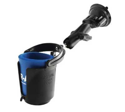 7 RAM Mounts (RAM-B-132MU-MC1) Drink Cup Holder Magnetic  >> The 10 Best Motorcycle Cup Holders For Bikers