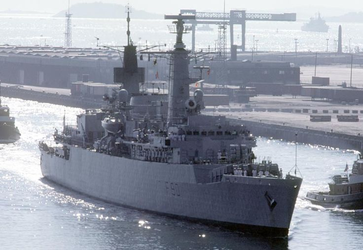 Picture of the HMS Brilliant (F90) A Falklands War veteran, HMS Brilliant F90 was sold off to the Brazilian Navy after her usefulness in the British Royal Navy had ended.