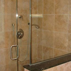 aqua glass shower door sweep