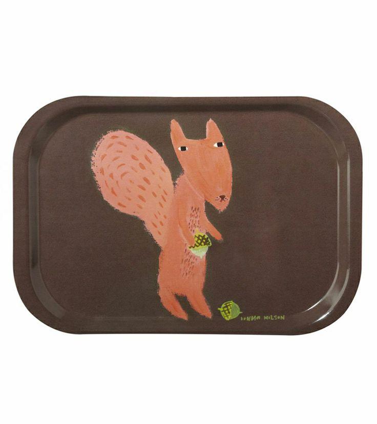 shopminikin - Donna Wilson Squirrel Mini Tray (http://www.shopminikin.com/donna-wilson-squirrel-mini-tray/)