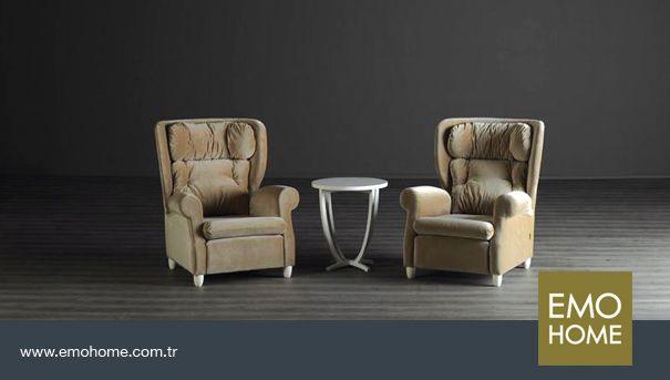 Tekli koltuk hiç bu kadar rahat olmamıştı. #emohome #kalite #sade #şık #modern #home #homedesign #design #modernfurniture