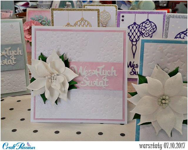 Blog Craft Passion: Karteczki z warsztatów / Cards from workshops