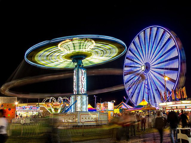 state fair lights | Pretty Lights | Cleveland County Fair, Shelby, North Carolin… | By ...