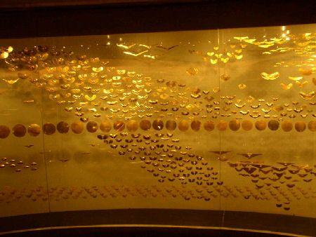 """""""G"""" is for Gold. Colombia has the most important Gold Museum in the world. With very exquisite and special pieces from the Pre-Columbian period. This """"Museo del Oro"""" is located in the downtown of Bogotá, our capital city. Come and visit us in www.Going2Colombia.com"""