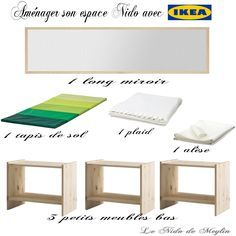 Aménager l'espace NIDO à moindre coût avec IKEA ~ Le NIDO de Meylin