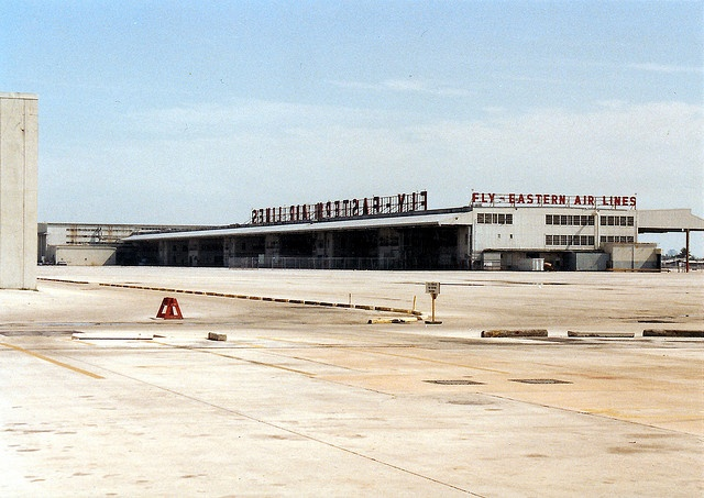 Eastern Hangars and Headquarters 1991 by RetroJason, via