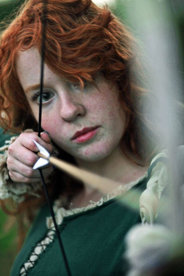 brave the red hair freckles and scottish stubbornness brave costumemerida costumeprincess halloween - Scottish Girl Halloween Costume