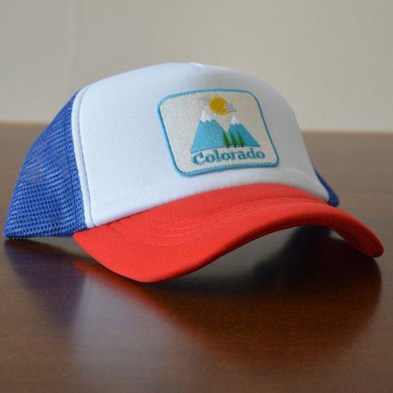 7946838be Colorado Baby Trucker Hat - Snapback Bluebird Colorado Infant ...