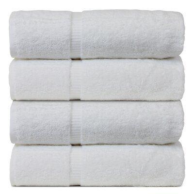 Darby Home Co Finkelstein Wedding Engagement Anniversary Gift Turkish Cotton Bath Towel