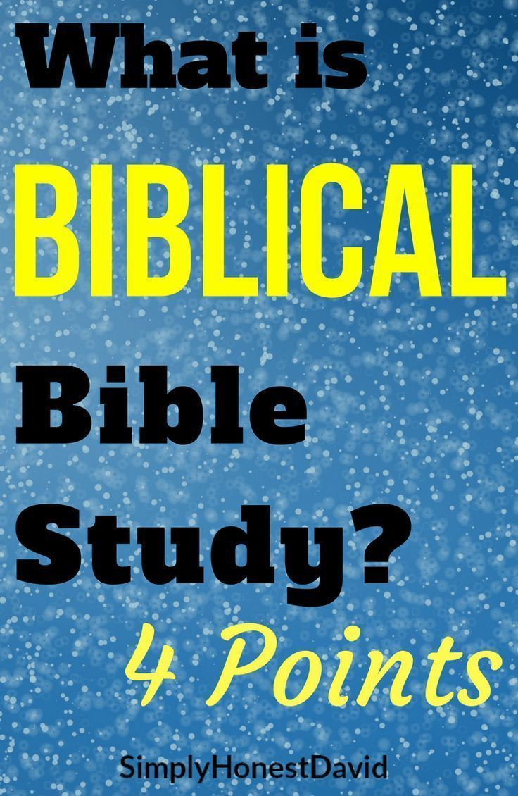 What Is Biblical Bible Study   Bible Study for Beginners   Bible
