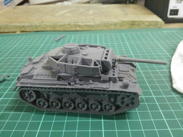 Tank from WWII. Printed at 0.1mm. Around 20 hours